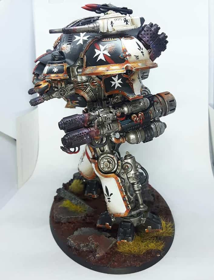 All Of Those Guns Imperial Knight Army Of One Spikey Bits
