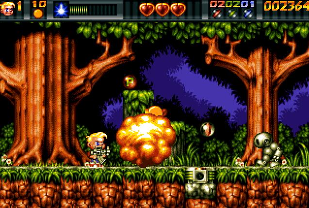 Ruff'n'Tumble er et av tidenes beste plattformspill. Det er en skam at dette spillet ikke er mer kjent enn det er.