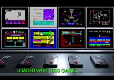 Konsollen og et utvalg spill. Hvor mange kjenner du igjen?