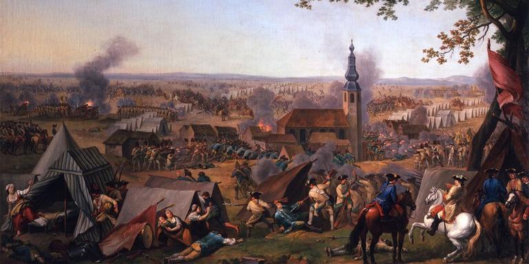Der Überfall bei Hochkirch am 14. Oktober 1758