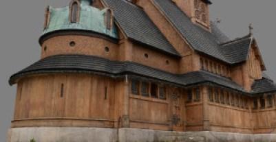3D-modellen av kirken.
