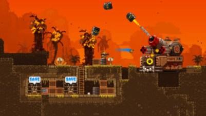 Spillet har stor, grafisk variasjon.
