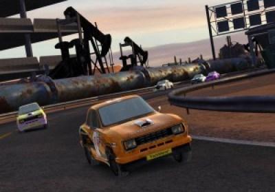 Siste versjon av TrackMania – en god del forbedringer her.