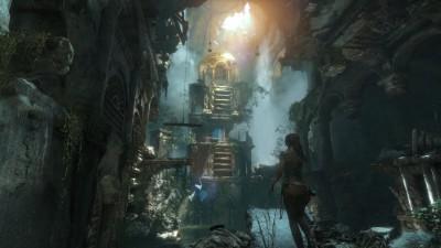 En ruin. Tror du den overlever møtet med Lara?