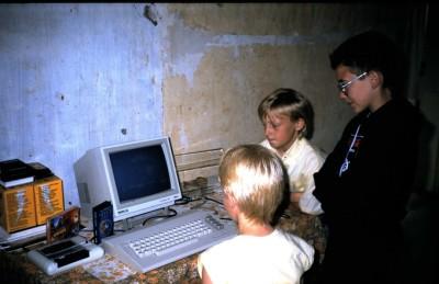 Å vokse opp med Commodore 64.