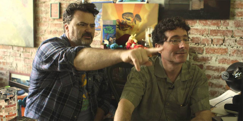 Tim Schafer og Dave Grossman
