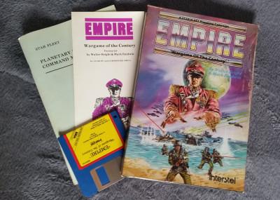 Empire: Wargame of the Century for Amiga.
