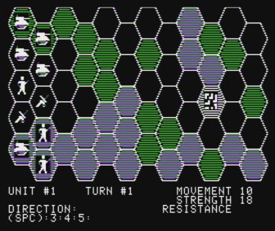 Conflict for Apple II. Spillet ble relansert som Rebel Force i samlepakken Comptuter Conflict.