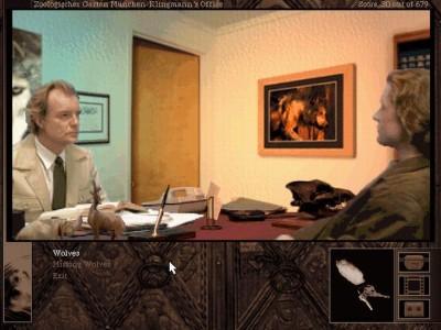Gabe møter Herr Doktor Klingmann i Gabriel Knight 2.