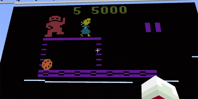 Noen har laget en Atari 2600-emulator i Minecraft