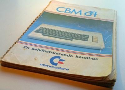 Min manual er godt brukt.