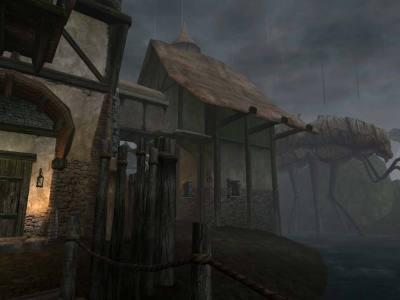 Det var alltid mye tåke i spillets verden, fordi synsrekkevidden var så lav.
