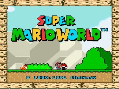 Velkommen til Super Mario World for SNES.