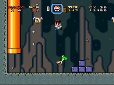 Med Yoshi kan du til og med dobbelthoppe.