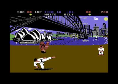 International Karate, også dette på Commodore 64.