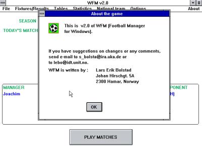 WFM ble utviklet av Lars Erik Bolstad.