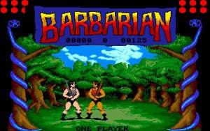 Barbarian på Amiga.