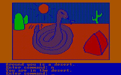 PC-versjonen av The Wizard and the Princess het Adventures in Serenia.