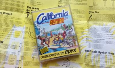 Den europeiske kassettutgaven for Commodore 64.