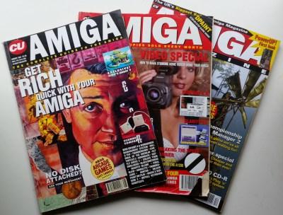 CU Amiga var et populært blad.