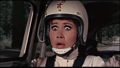 Bilde fra The Love Bug, eller På to hjul i svingen som den av en eller annen grunn het i Norge. Bilde: IMDB.