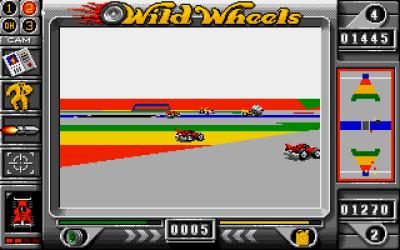 I 3D-modus er vinkelen låst, men du kan velge hvor langt unna bilen kameraet skal være.