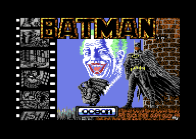 Tittelskjermen på Commodore 64.