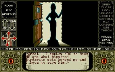 Elvira: Mistress of the Dark. Bilde: Mobygames.
