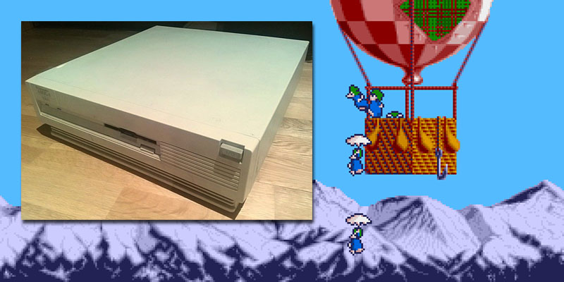 lemmings intro amiga 3000