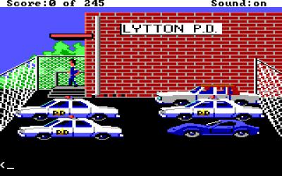 Dette spillet kom mens amerikanske politibiler fortsatt var kule.