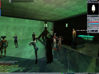 Full fest i Anarchy Online.
