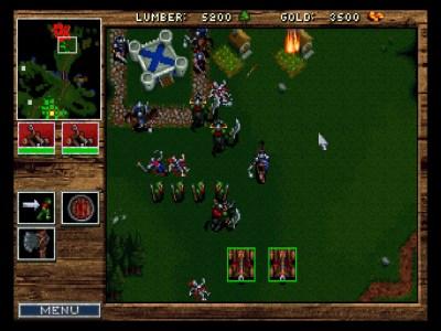 Det første Warcraft-spillet.