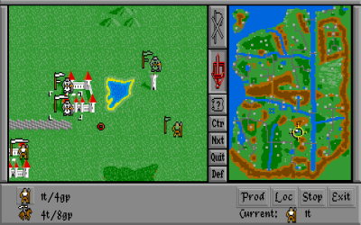 Warlords på Amiga.