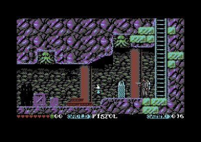 The Shadow over Hawksmill (Commodore 64).
