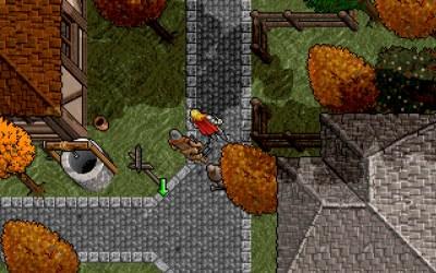 En av byene i Ultima VII. Kan være Trinsic, siden jeg kun har gamlingen med på laget.