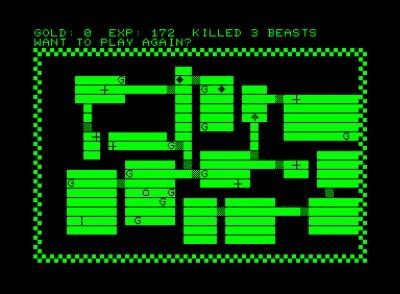 Dungeon på PET kan ha vært en inspirasjonskilde. Bilde: Mobygames.