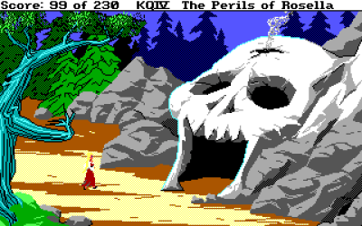 King's Quest IV byr på oppgradert grafikk og lyd.