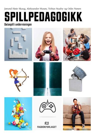Bilde av forsiden til boka Spillpedagogikk.