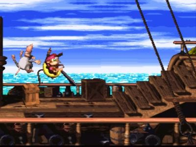 Donkey Kong Country 2. Bilde: Mobygames.