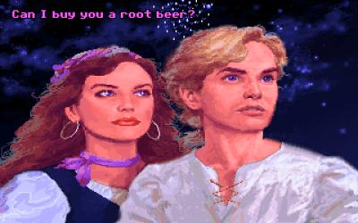 Spillet har massevis av humor, en dose spenning og litt romantikk. Perfekt.