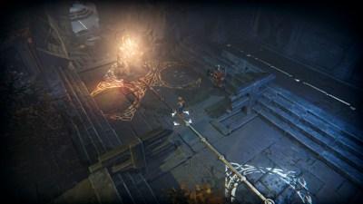Spillet har også segmenter mer preget av gåter og utforsking.