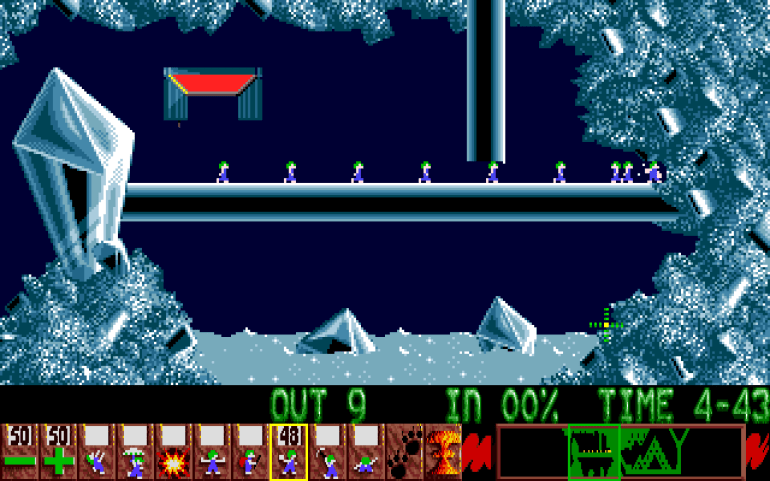 Lemmings er eid av Sony.