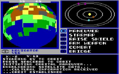 Starflight lar deg utforske solsystemer og planeter.