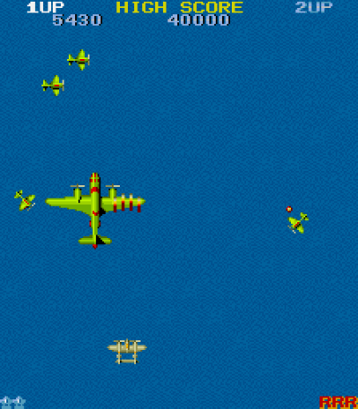 Som klassiske arkadespill flest bruker spillet en monitor satt på høykant.