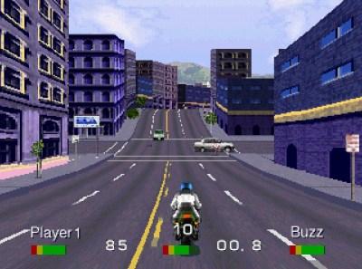 Racing i storbyen.