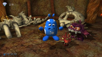 Spillets enkle grafikk har sin sjarm, og monstrene er ... spesielle.