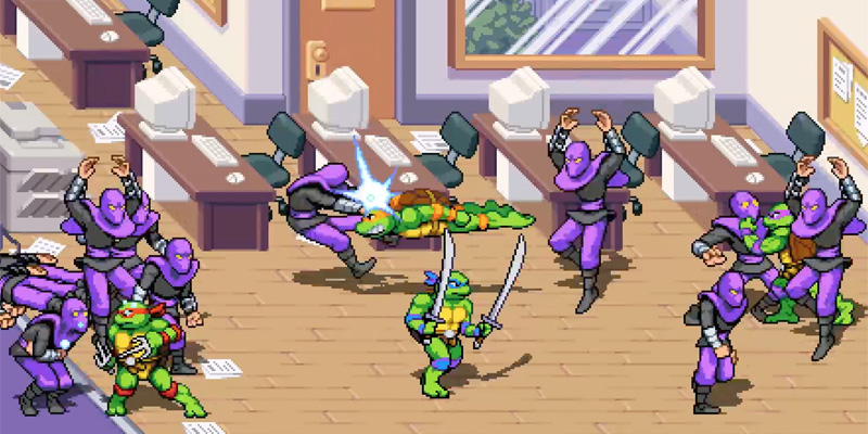teenage mutant ninja turtles shredders revenge