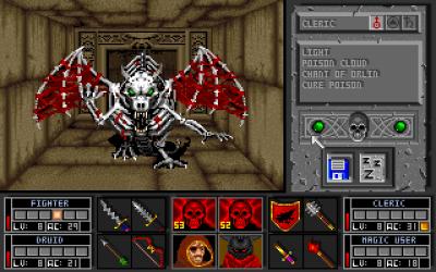 Klassisk «dungeon crawler».