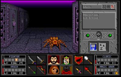 Iik! En edderkopp!