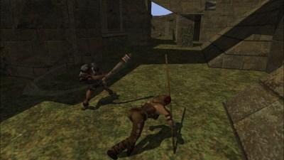 Å rulle unna fiendens angrep er alltid en god strategi i denne typen spill.